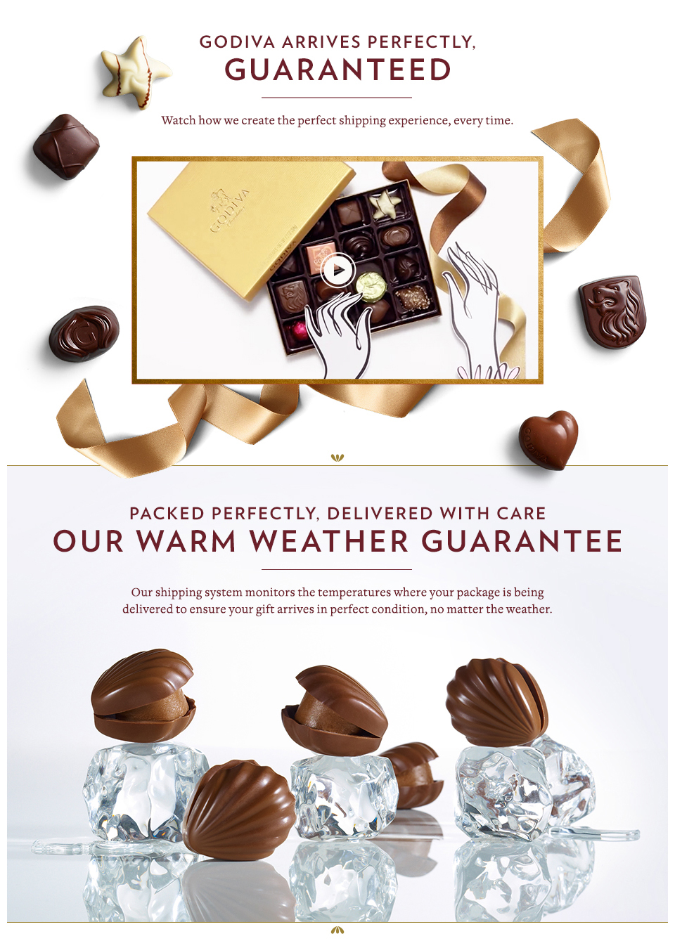 Warm Weather Guarantee | GODIVA