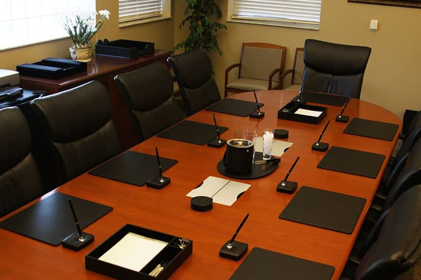 shop by room conference room in black leather the