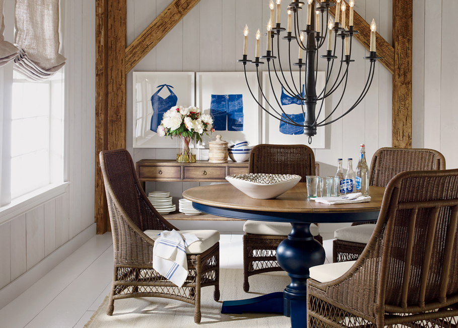 by the sea dining room | ethan allen