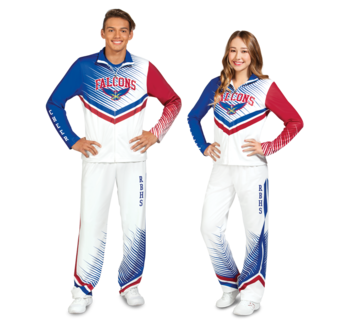 Sublimation | Chassé Cheerleading Apparel
