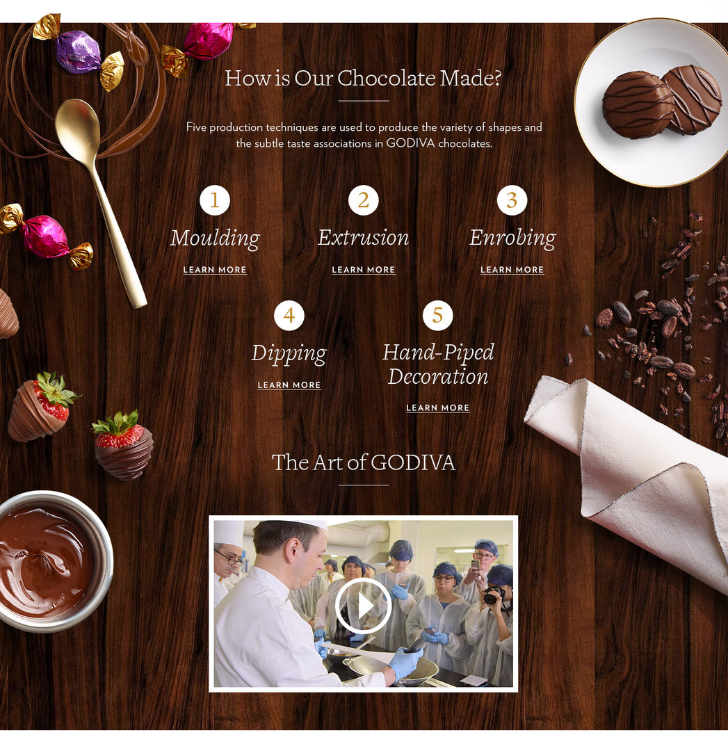 Chocolate Education | GODIVA