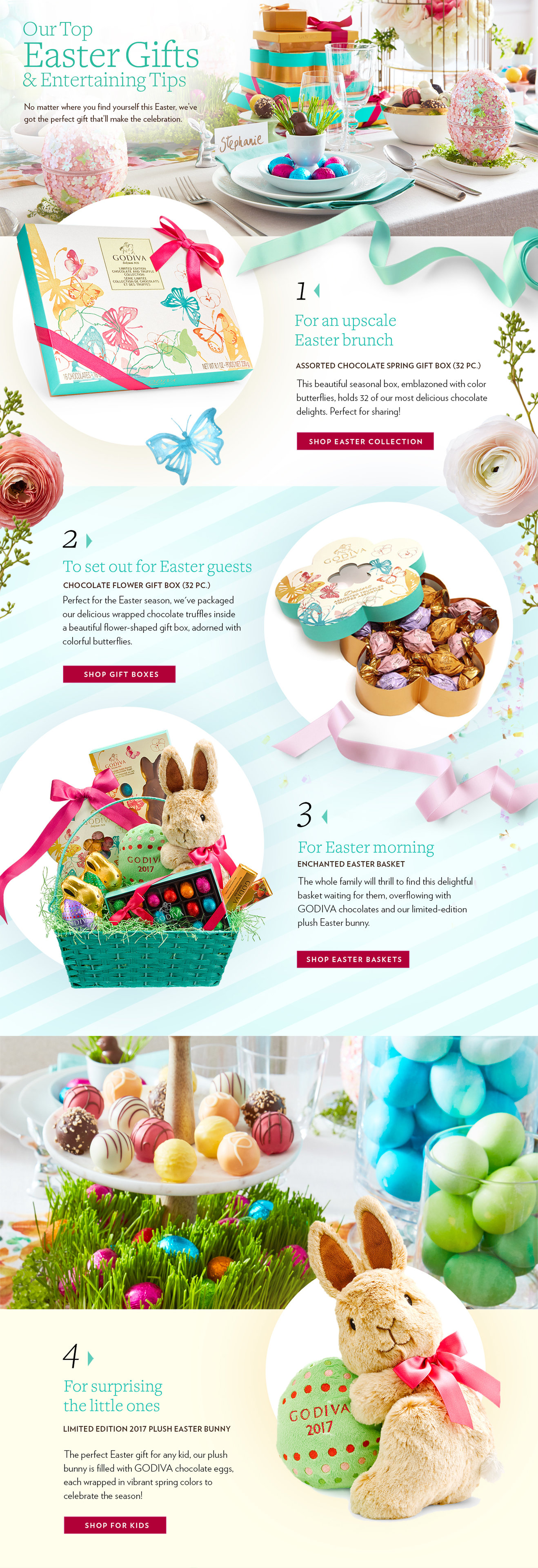 Easter chocolate gift ideas for every occasion godiva easter gift guide by occasion 0328godivaspringgiftguiderevfinaltop 0328godivaspringgiftguiderevfinalbottom negle Images