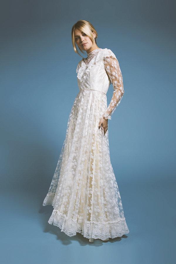 Vintage wedding dress lookbook