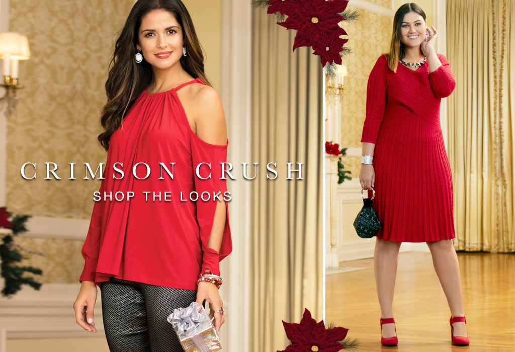 Crimson Crush   Shop Fabulous Holiday Red Looks At Cato Fashions