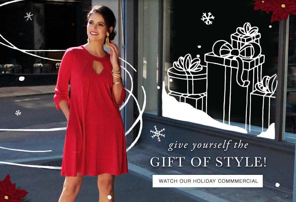 Give Yourself The Gift Of Style This Season At Cato Fashions! Watch Our  2017 Holiday