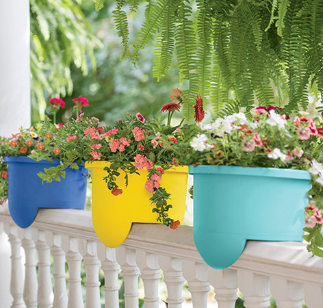 How to Create Sensational Pots and Planters | Gardener's Supply Ideas Colorful Planters For Backyard on backyard urn ideas, backyard patio ideas, cheap retaining wall ideas, backyard rose ideas, diy flower garden design ideas, backyard fence ideas, backyard gift ideas, tropical landscape patio design ideas, backyard outdoor ideas, backyard wood ideas, backyard landscaping ideas, back yard landscaping design ideas, backyard shelf ideas, small backyard ideas, outdoor flower pot decorating ideas, backyard plant ideas, backyard statue ideas, backyard bed ideas, backyard light ideas, backyard flowers ideas,