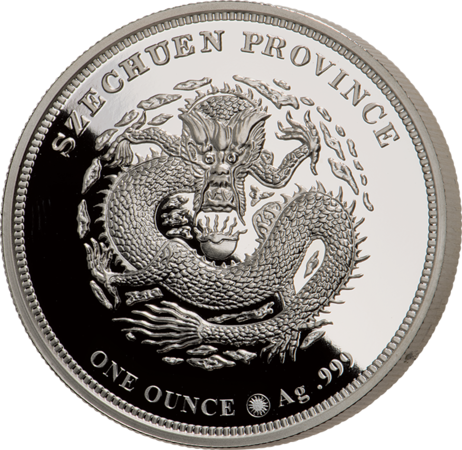 Barbers Dragon 1 oz silver