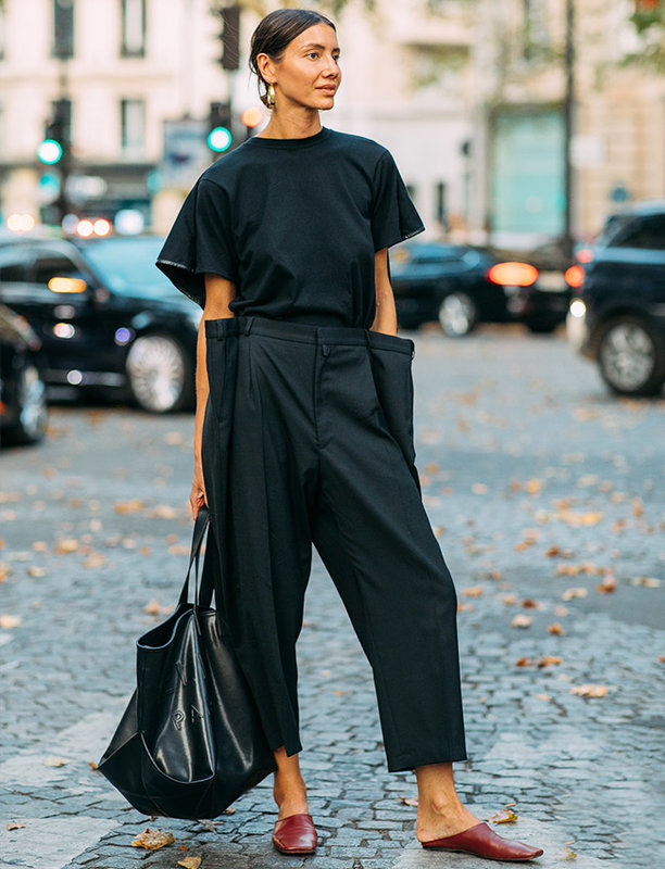 what to wear with black pants in the summer