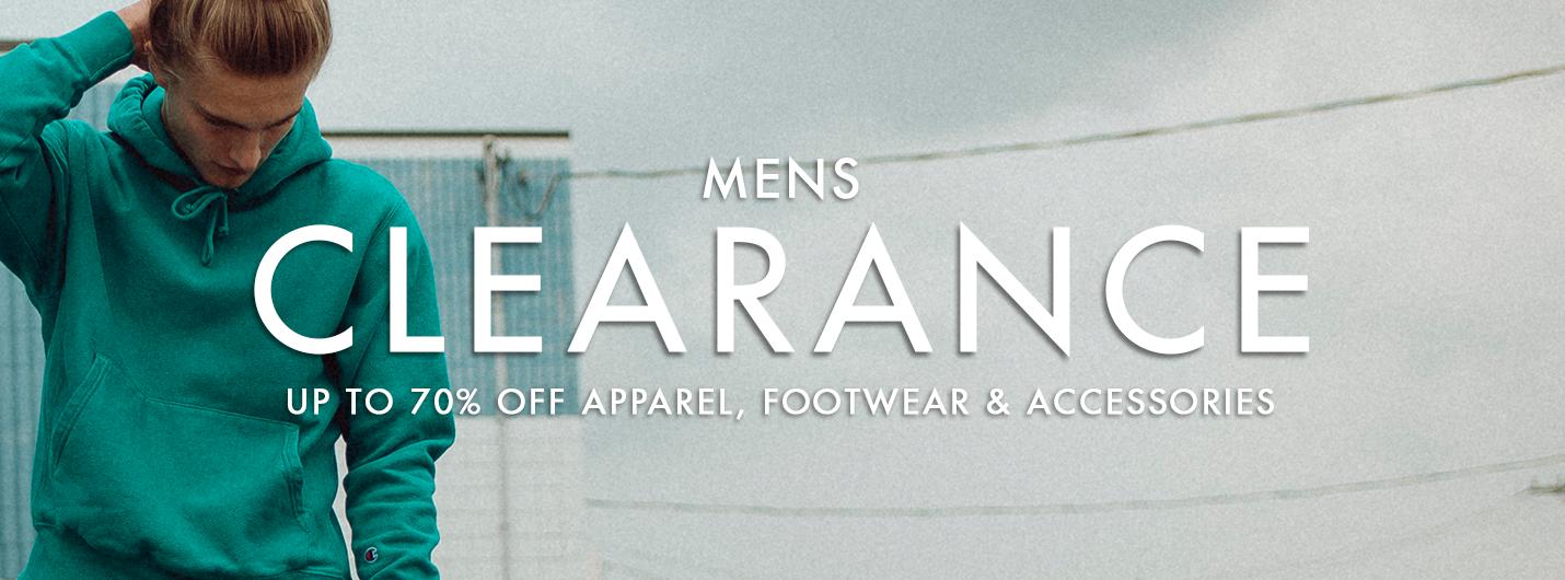1b16ef03f1d7 CLEARANCE MENS FOOTWEAR