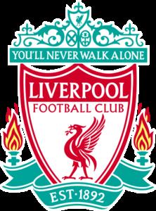 35928cbf47 Liverpool FC Club Soccer Crest. [PLPPageBottomMerch_Liverpool_FC]. New  Balance Mohamed Salah Liverpool Home Jersey ...