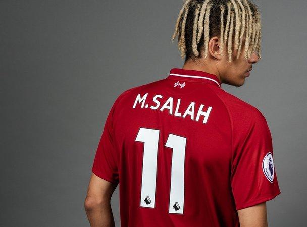 detailed look 58331 5d430 Official Salah Jerseys | World Soccer Shop