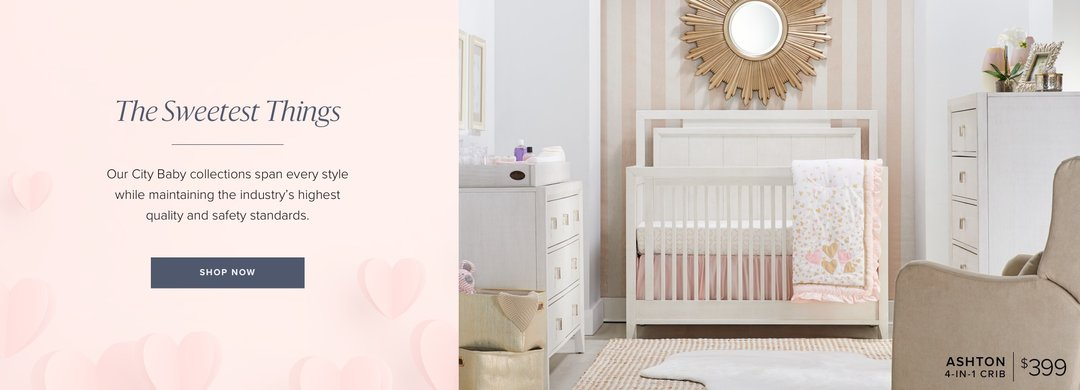 City Furniture Baby Ashton Crib Homepage Feature