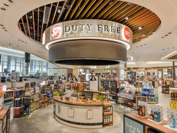 DFS Singapore Changi Airport Singapore | DFS | T Galleria