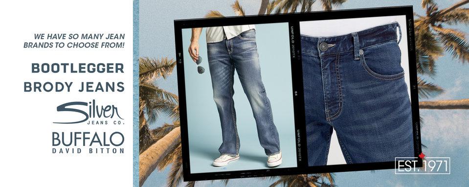 2fa029a81 Shop Men's Jeans in Canada | Bootlegger