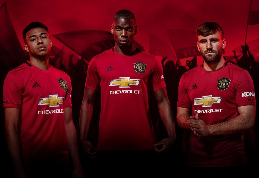 183cdf39e2f91 ManchesterUnited2019_20HomeJersey. Shop Official Manchester United Apparel.  BACK TO ALL CLUBS