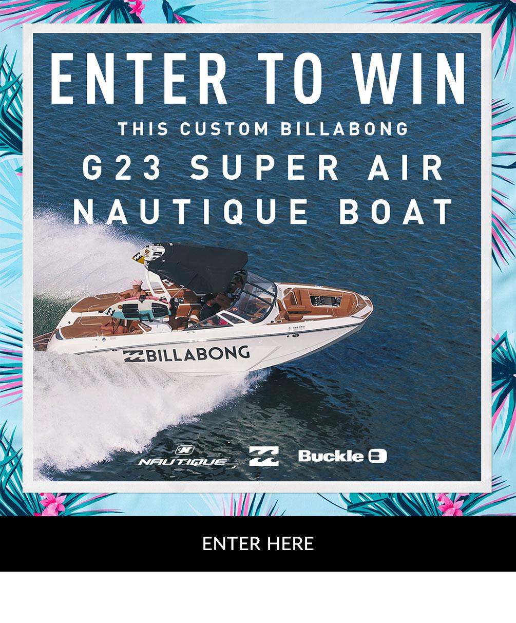 f5b2d6d1db46 Enter to win this custom Billabong G23 Super Air Nautique Boat