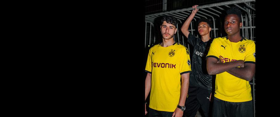 big sale 5dd51 57e94 Official Dortmund Jerseys, Shirts & Gear | World Soccer Shop