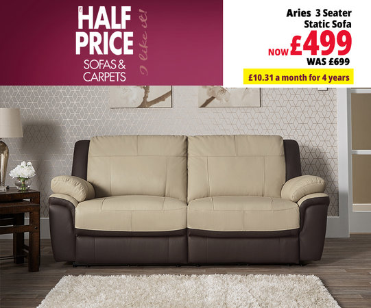 Leather Sofas | In White, Black, Grey & More Colours & Styles | ScS