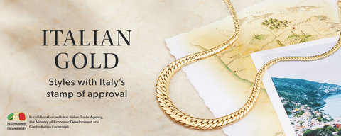 Italian Gold Jewelry, Gold Jewelry from Italy