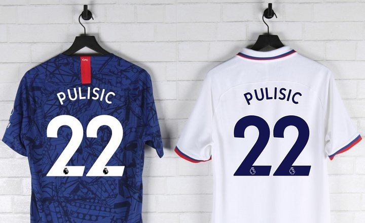official photos a6932 2ca3b Official Pulisic Jerseys | World Soccer Shop