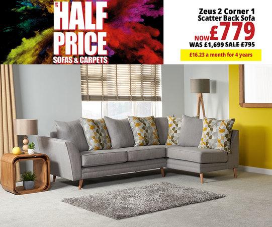 Corner Sofas | L Shaped Sofas & Sofa Beds | Leather & Fabric ...