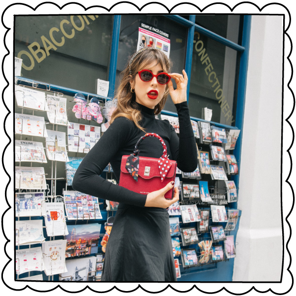 Designer Handbags Purses Clutch Shoulder Bags Lulu Guinness